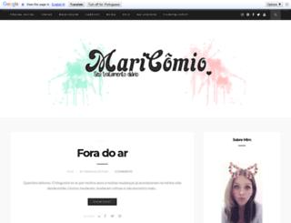 maricomio.com.br screenshot