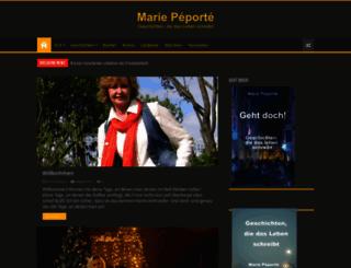 marie-peporte.com screenshot