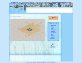 marie.ville-virtuelle.com screenshot