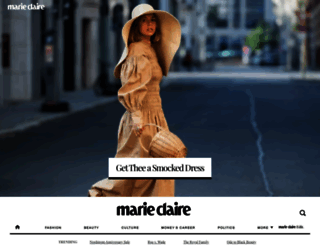 marieclaire.com screenshot
