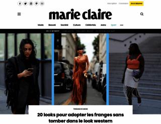marieclaire.fr screenshot