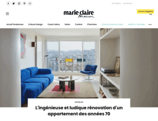 marieclairemaison.com screenshot