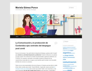 marielagomez.com screenshot