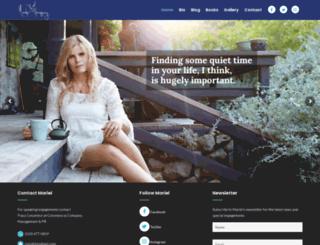 marielhemingway.com screenshot