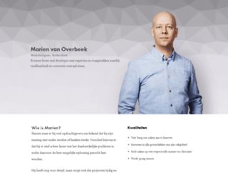marienvanoverbeek.nl screenshot