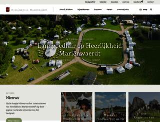 marienwaerdt.nl screenshot