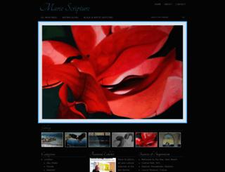 mariescripture.com screenshot