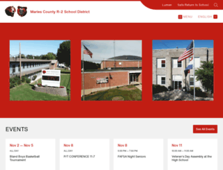 mariesr2.org screenshot