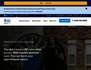 mariestopes.org.uk screenshot