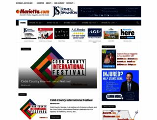 marietta.com screenshot