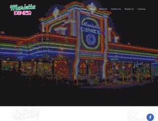 mariettadiner.com screenshot