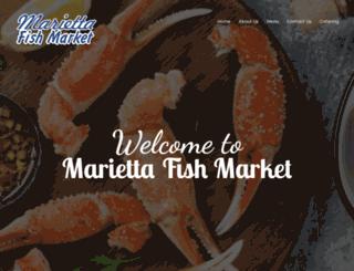 mariettafishmarket.net screenshot