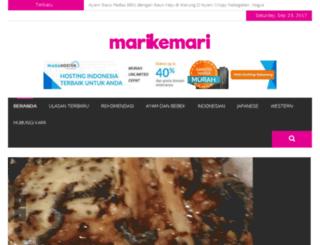 marikemari.com screenshot