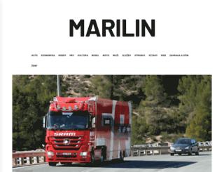 marilin.cz screenshot