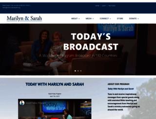 marilynandsarah.org screenshot