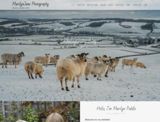 marilynjanephotography.co.uk screenshot