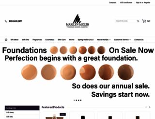 marilynmiglin.com screenshot