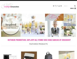 marilynskeepsakes.com screenshot