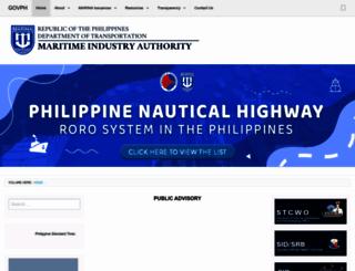 marina.gov.ph screenshot