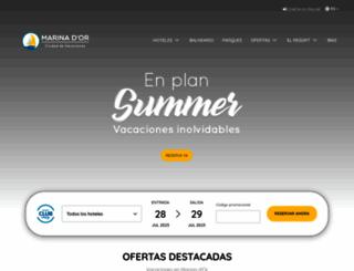 marinador.com screenshot