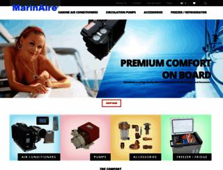marinaire.com screenshot