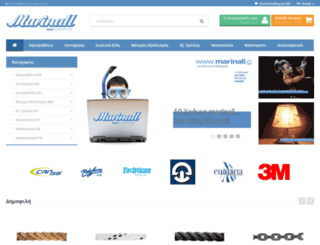 marinall.com screenshot