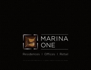 marinaone.com.sg screenshot