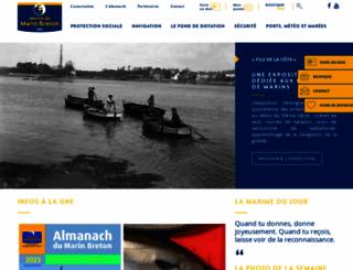 marinbreton.com screenshot