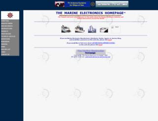 marine-electronics.net screenshot