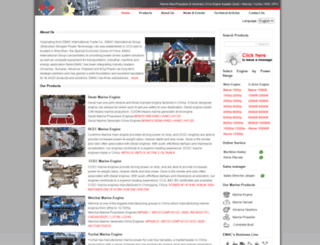 marine-engine.com screenshot