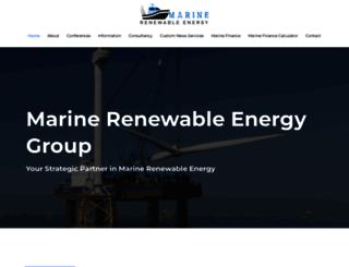 marine-renewable-energy.com screenshot