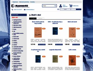 marine4u.cz screenshot