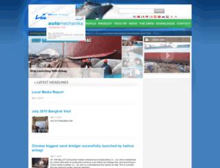 marineairbag.com screenshot