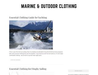 marineandoutdoorclothing.co.uk screenshot