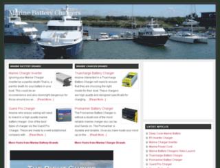marinebatterychargershop.com screenshot