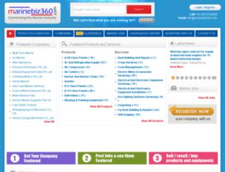 marinebiz360.com screenshot