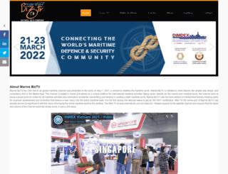 marinebiztv.com screenshot