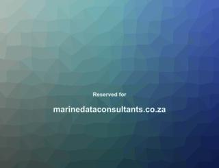 marinedataconsultants.co.za screenshot