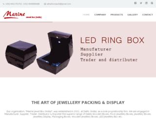 marinejewelbox.com screenshot
