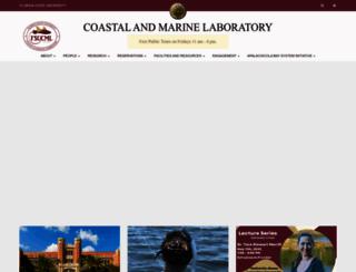marinelab.fsu.edu screenshot