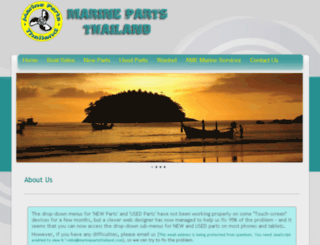 marinepartsthailand.com screenshot