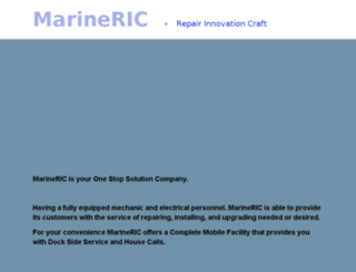 marineric.com screenshot