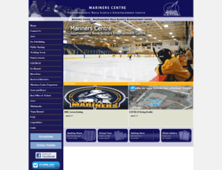mariners-centre.com screenshot