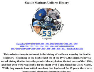 mariners.freehostia.com screenshot
