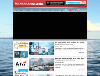 marinescene.asia screenshot