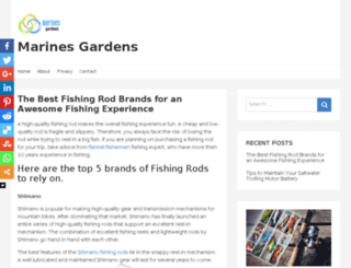marinesgardens.com screenshot