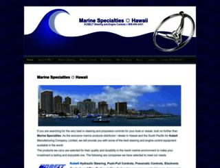 marinespecialtieshawaii.com screenshot