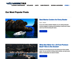 marinetalk.com screenshot
