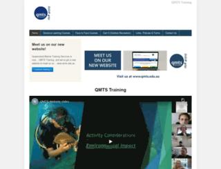 marinetrainingqld.com.au screenshot