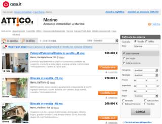 marino.attico.it screenshot